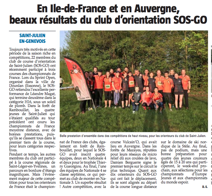CFC 2018 #sosgo7407 Le Messager